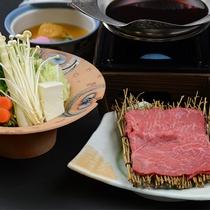グレードアップBプラン福島牛すき鍋(12月~2月)