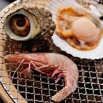 日本海の幸_炭火焼2