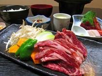 【選べる夕食】北海道生ラム御膳