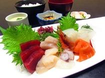 【選べる夕食】鮮度抜群 刺身御膳