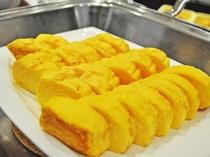 【朝食】ふわふわの卵焼き♪