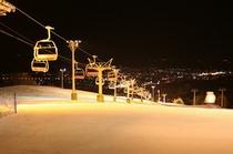 富良野スキー場 ナイター