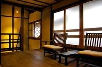 庵 石不動之町町家 2Fの和室横にある板間です。