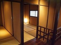 庵 おく玉屋町町家 2F和室です。2つのお部屋がございます。