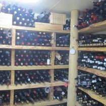 約4000本のワインセラー