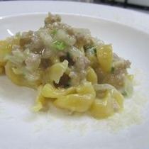 プリモピアット:チーズのパスタ
