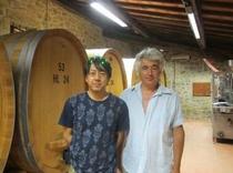 ブルネロのワイナリー
