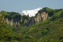 生坂村からの常念岳
