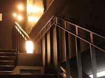 モール側の階段♪