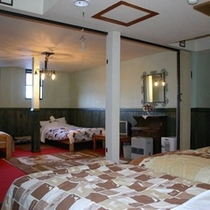 洋室4〜8人部屋