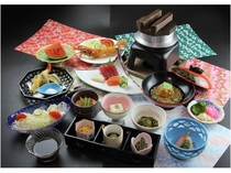 和食膳(宴会の際も御利用頂けます)