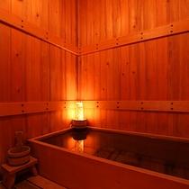 離れ檜風呂