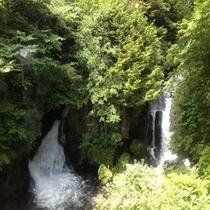 *夏の龍頭之滝