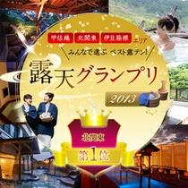 *露天グランプリ2013エンブレム(北関東1位)