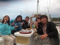 船上バーベキュー3