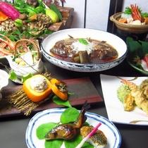 秋料理(sdxset):調理長のおもてなし和食膳