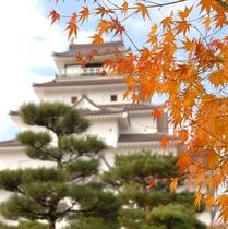 鶴ヶ城(秋)