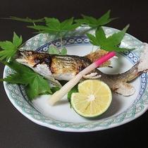 夕食:夏の料理例