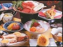 夕食お料理一例