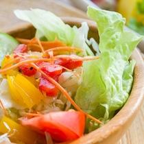 *ご朝食一例/地元のお野菜を中心に。