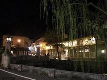 夜景(当館前)