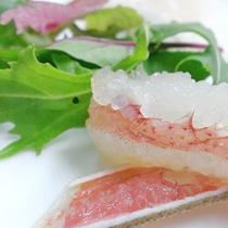 蟹カルパッチョ
