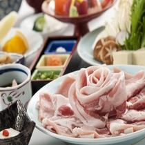 沖縄県産アグー豚しゃぶしゃぶ膳
