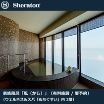 新施設家族風呂「風(かじ)」 浴室(有料/要予約)