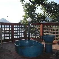 海と富士山を望むお部屋露天風呂