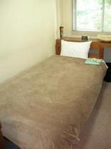 TVもないシンプルなお部屋です。温泉に入ると、ぐっすりとお休みいただけます。