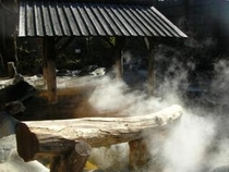 寒い冬も、あったかい温泉でぽかぽか♪露天風呂は、露天風呂作りの名人、黒川温泉の後藤哲也氏監修。