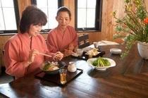 蕎麦創作レストラン「志楽亭」もご利用いただけます