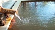 内風呂も源泉掛け流しの療養温泉