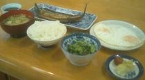 朝食500円日替わり(B)