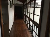 風情のある廊下