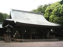 「大宮」の地名の由来、蔵一宮氷川神社はホテルより徒歩約20分。