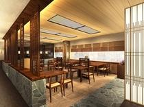 【レストラン】和食堂「欅(けやき)」 和モダンな雰囲気でお食事を。(11:00〜21:30)