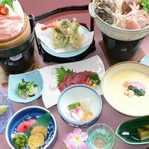 *[お料理一例]季節の食材をつかいバランスを考えた和定食