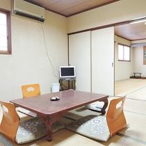 *[客室一例]ファミリー、グループにオススメ!襖あり使い勝手◎2階/二間・和室8畳+12畳(バストイ