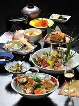 開苑40周年記念:旬魚会席「因幡デラックス」コース