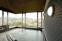 新館4階のジャグジー展望浴場