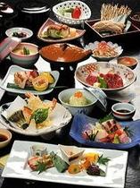 季節の会席料理「松」コース