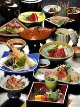 季節の会席料理「風」コース