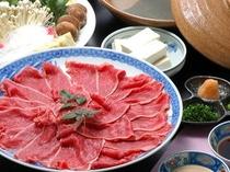 鳥取県産黒毛和牛のしゃぶしゃぶコース
