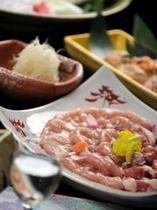 鹿野地鶏と生姜のほっこり鍋コース