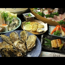 満腹まちがいなし!心行くまで食べつくす 牡蠣食べ放題コース_r