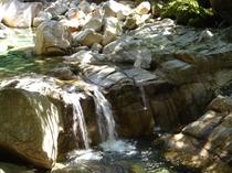 猿ヶ城渓谷 三姉妹の滝