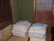 清潔な布団