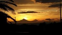 ★ 夕方の富士山 ★