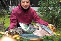 丹後で漁師をしている女将の弟さん